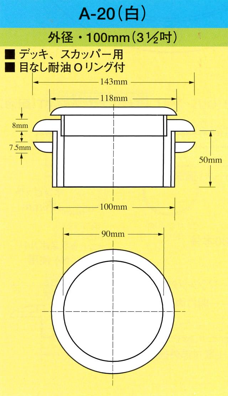 イケダ式 デッキスカッパー A-20