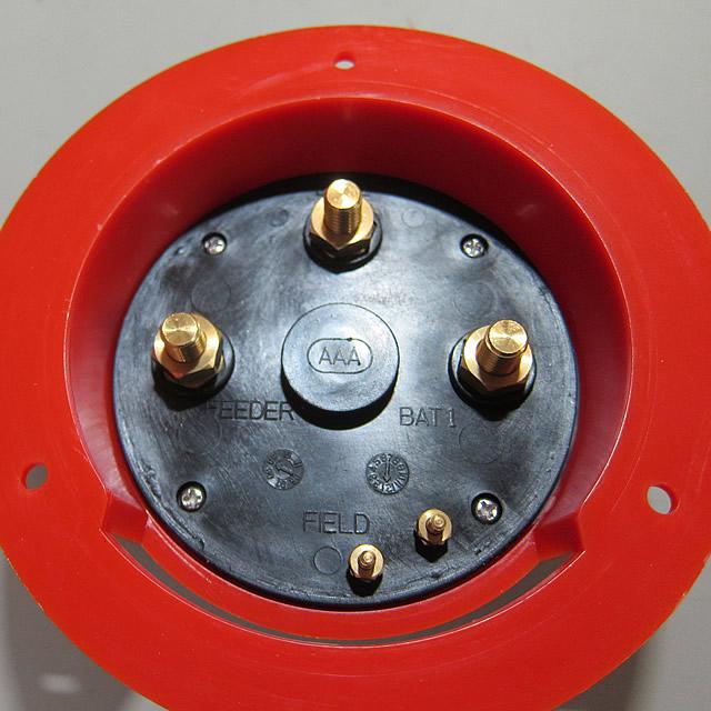 ロータリー式バッテリースイッチ 140mmφ [17540]