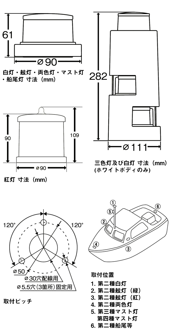 KOITO航海灯図