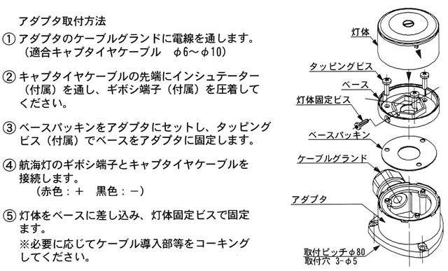 NLSシリーズ用ピッチ変換アダプター [NLS-JB1] 【伊吹工業】