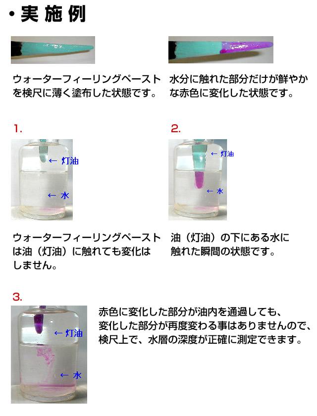 ウォーターフィーリングペースト 80g タンク内部の水分検知に!